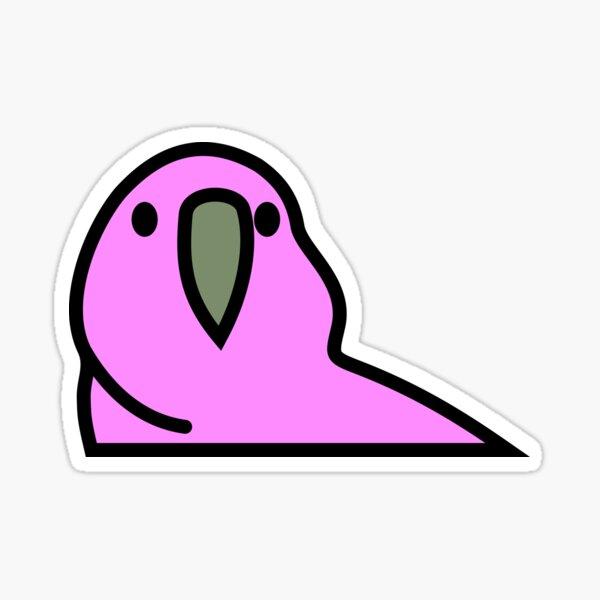 PartyParrot - Pink Sticker