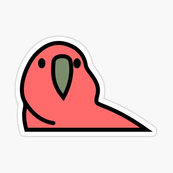 PartyParrot - Red Sticker