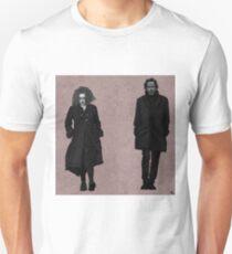 TIM BURTON AND HELENA BONHAM CARTER Unisex T-Shirt