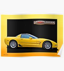 2006 Corvette Z06 '50th Anniversary Edition' 3 Poster
