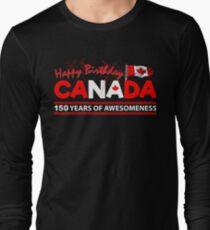 Happy Birthday Canada 150 Years Of Awesomeness T-Shirt
