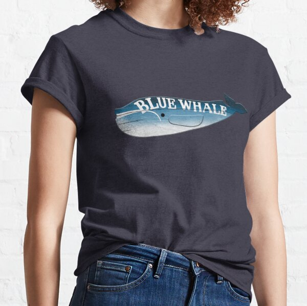 A Blue Whale Casts Dark Shadows Classic T-Shirt