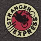 Stranger Things & Futurama - Stranger Express by PearShaped