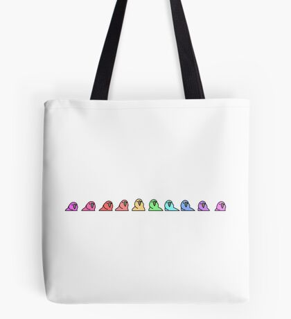 PartyParrot - Conga Line Tote Bag
