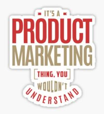 Product Marketing Thing Sticker