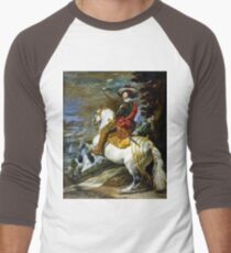 Diego Velázquez Don Gaspar de Guzmán Men's Baseball ¾ T-Shirt