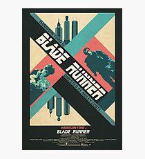 Ridley Scott's Blade Runner Film Poster Photographic Print