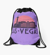 No.4 Las Vegas Drawstring Bag