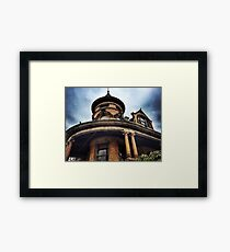 New England Historical Building  Framed Print