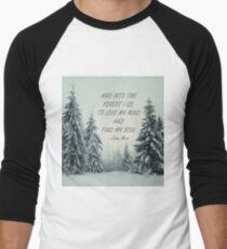 Into the forest 2 Men's Baseball ¾ T-Shirt