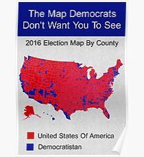 The Map Democrats Don't Want You To See Poster