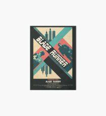 Ridley Scott's Blade Runner Film Poster Art Board