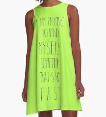 M Quotes A-Line Dress
