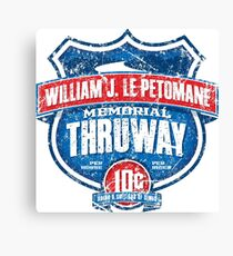 William J. Le Petomane Memorial Thruway Canvas Print