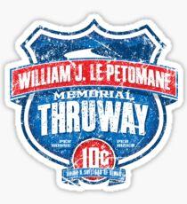 William J. Le Petomane Memorial Thruway Sticker