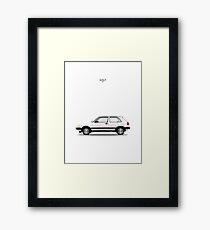 Golf GTi Framed Print