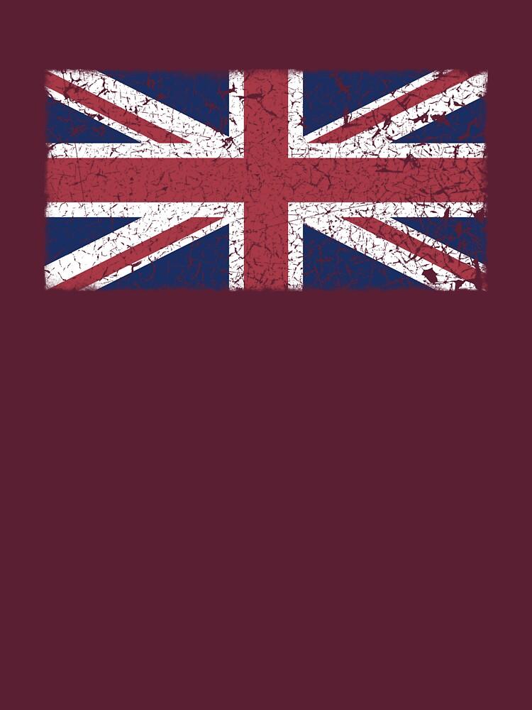 Vintage look Union Jack Flag of Great Britain by VintageSpirit