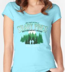 Shady Pines Retirement Home Women's Fitted Scoop T-Shirt