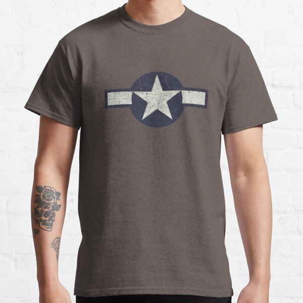 Vintage Look USAAF Roundel Graphic Classic T-Shirt