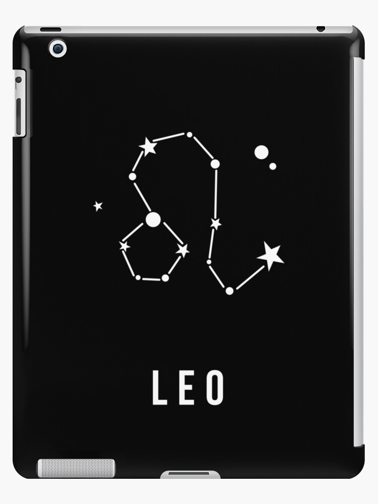 Leo Zodiac Sign Quote Ipad Cases Skins By Quarantine81 Redbubble