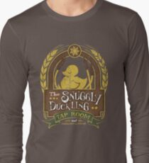 The Snuggly Duckling Tap Room Long Sleeve T-Shirt