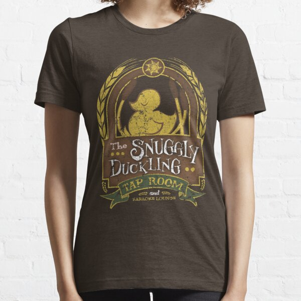 Der Snuggly Duckling Tap Room Essential T-Shirt