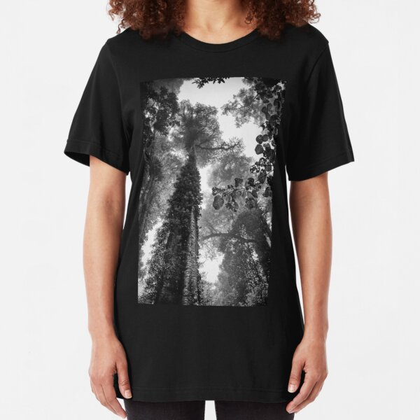 Look up - and up and up! Slim Fit T-Shirt