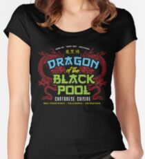 Dragon of the Black Pool Women's Fitted Scoop T-Shirt