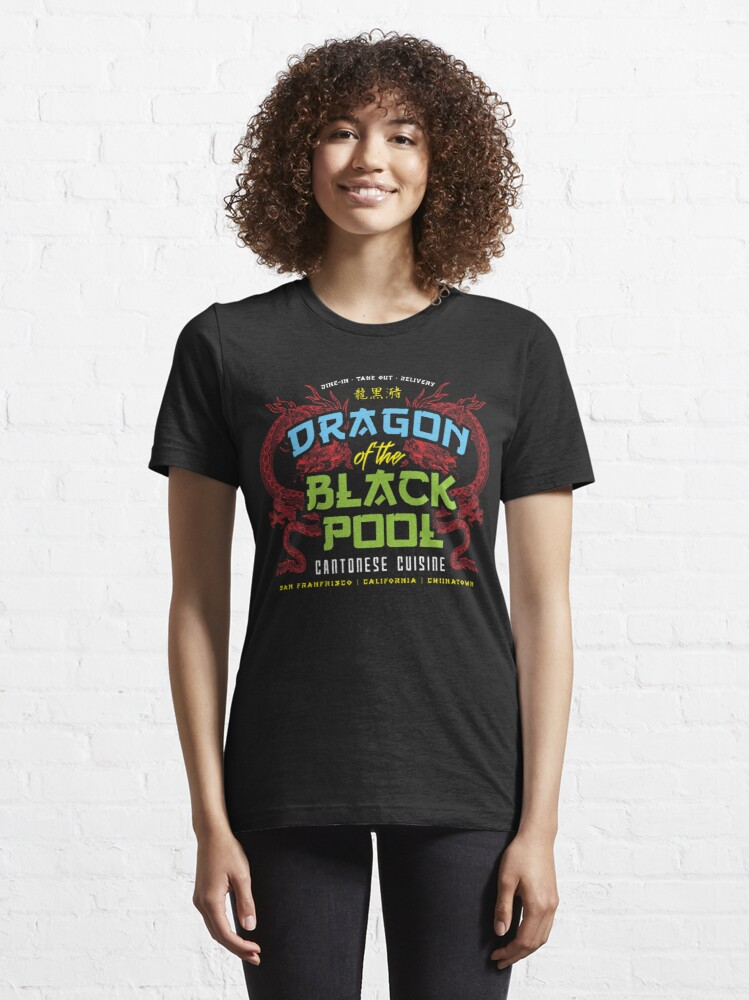 Alternate view of Dragon of the Black Pool Essential T-Shirt