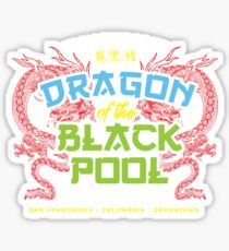 Dragon of the Black Pool Sticker