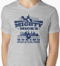 Mighty Micks Boxing Gym Men's V-Neck T-Shirt