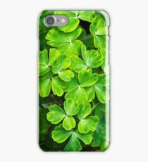 Green Leafy Abstract iPhone Case/Skin
