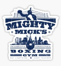 Mighty Micks Boxing Gym Sticker