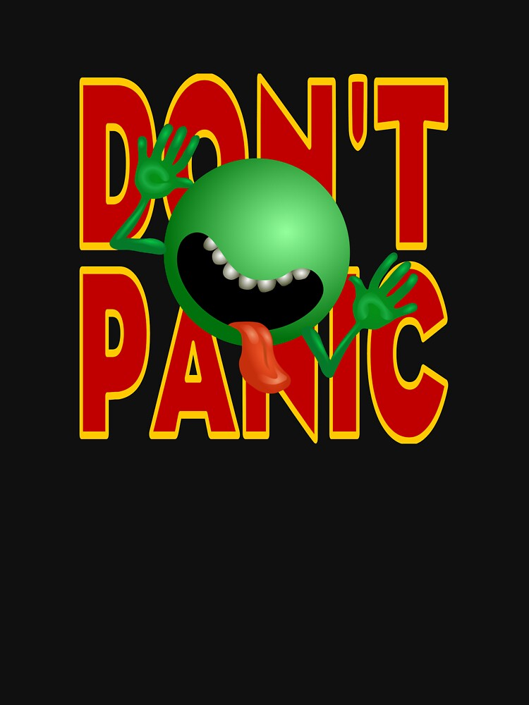 DON'T PANIC by robertpartridge