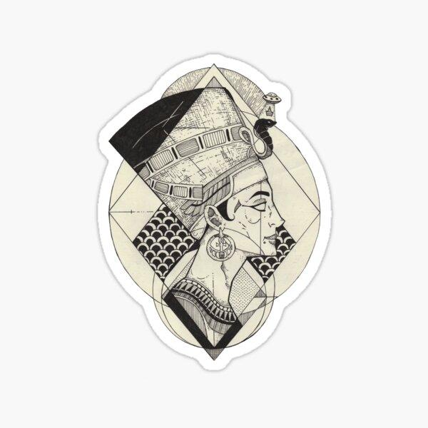 Nefertiti. Sticker