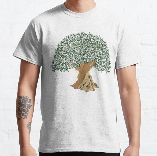 1110 Years Old Olive Tree Classic T-Shirt