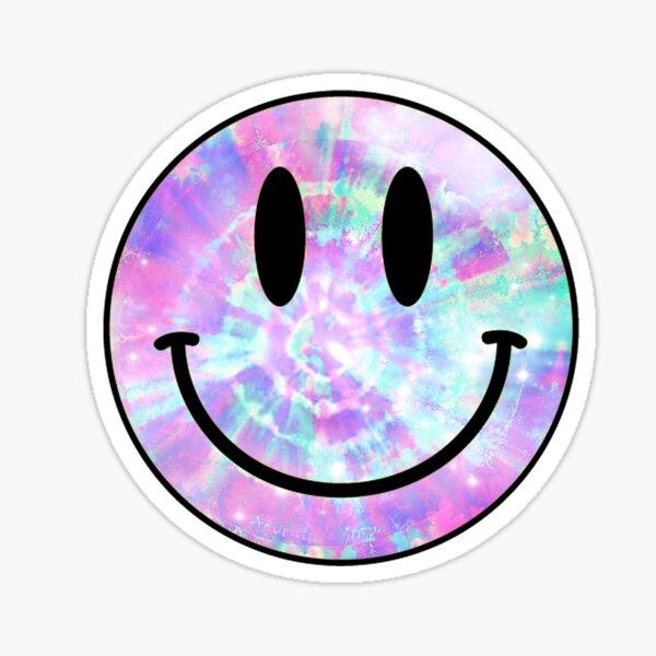 Cara feliz Pegatina