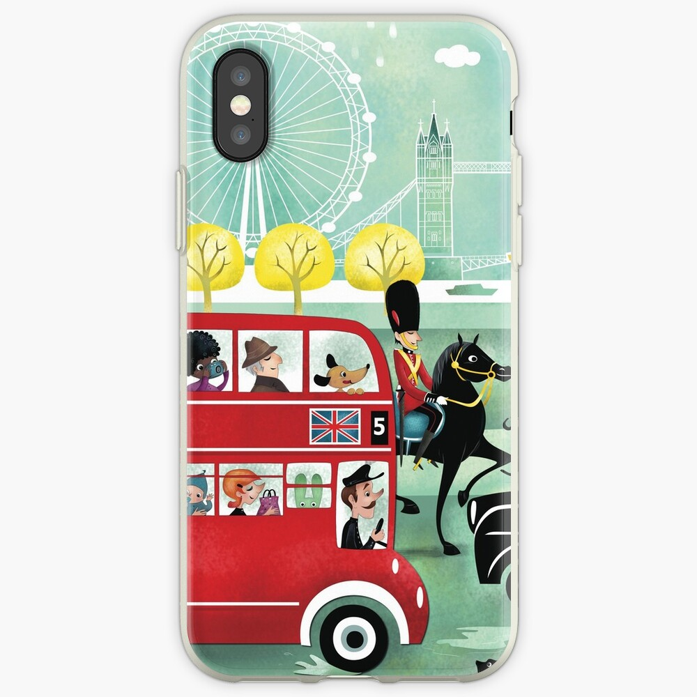Happy London iPhone Case & Cover