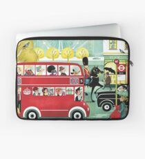 Happy London Laptop Sleeve