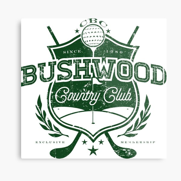 Bushwood Country Club Metal Print
