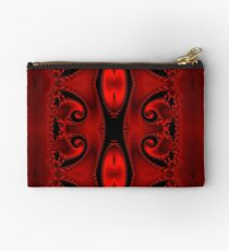 Blood Red Tapestry Studio Pouch