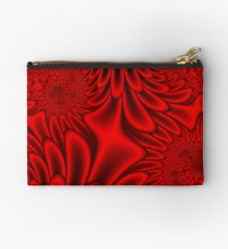 Red Petals Studio Pouch