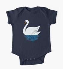 Just The One Swan Actually One Piece - Short Sleeve