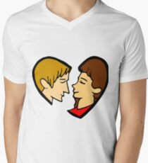 Heart-shaped couple T-Shirt