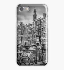AMSTERDAM Bloemgracht schwarz-weiß  iPhone Case/Skin