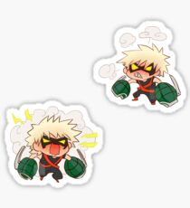 Angry small nitroglycerine Sticker