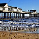 Reflections of the Pier no 2 by Karen  Betts