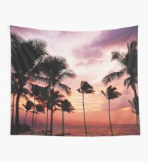 Summer LA Palms #tapestry  Wall Tapestry