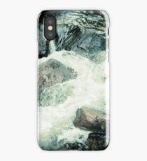 Water in Holga Blue iPhone Case/Skin