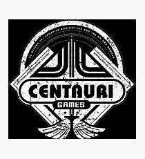 Centauri Games Photographic Print
